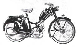 Miele Moped Model K 50 S